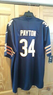 34 Walter Payton 3XL Jersey Chicago Bears Football NFL 100th All Colors
