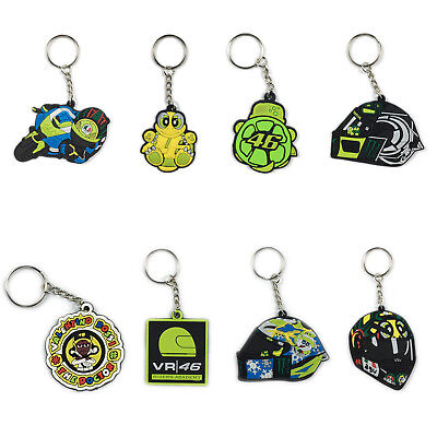3D Rubber Motorcycle Motocross Racing Suits Keychain Keyring llaver MOTO GP