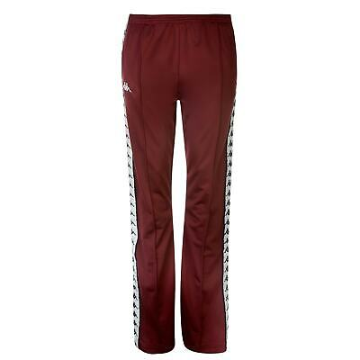 Womens Kappa Wastoria Snaps Joggers Poly Tracksuit Bottoms Slim Fit New