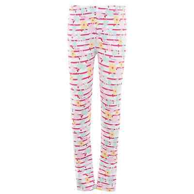 Kids Girls Guess Floral Legging Childs Leggings New