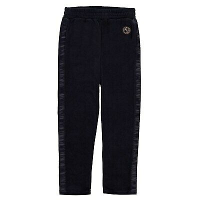 Kids Girls Guess Circle Logo Joggers Woven Tracksuit Bottoms Hooded New