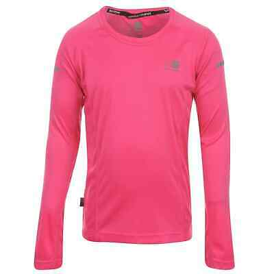 Kids Girls Karrimor Long Sleeved Running Top Sleeve Performance Shirt New