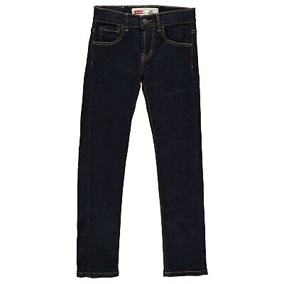 Kids Boys Levis 510 Skinny Jeans Zip New