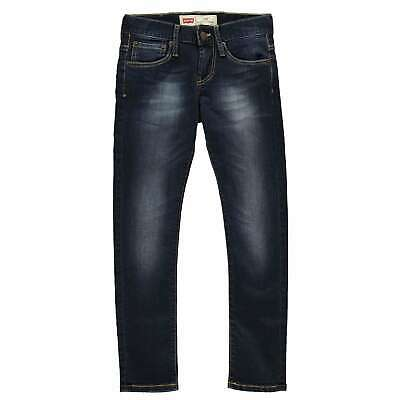 Kids Boys Levis 520 Skinny Jeans Zip New