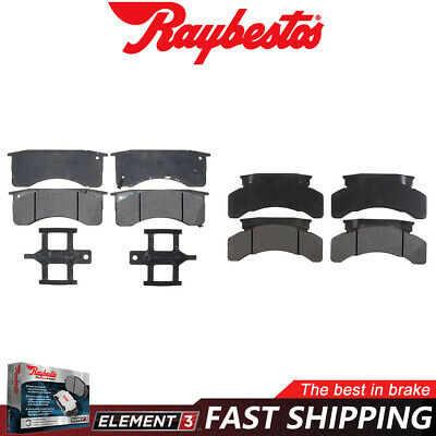 Disc Brake Pad Set-Element3 Metallic Front,Rear Raybestos PGD786M