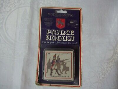 Prince August metal casting kit Battle of Rossbach 1757 no 68 Unopened