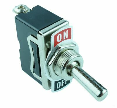 On-Off Toggle Switch Screw Terminals 10A 250VAC SPST