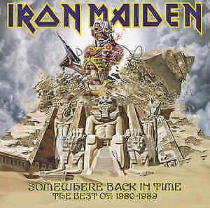 Iron Maiden - Somewhere Back In Time (1980 - 1989) CD Like new