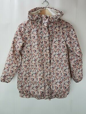 Girls NEXT raincoat rainproof waterproof jacket coat. Floral. Age 9  Lovely.
