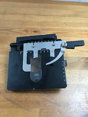 Vtg Carl Zeiss Slide Stage Microscope West Germany
