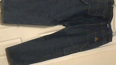New Bulwark Flame-Resistant Carpenter Work Jeans ( 42 x 32 ) Blue W / O Tags