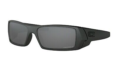 Oakley GASCAN POLARIZED Sunglasses OO9014-3560 Steel COLOR Frame W/ PRIZM Black