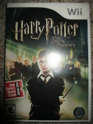 Harry Potter and the Order of the Phoenix  (Wii, 2007) Complete