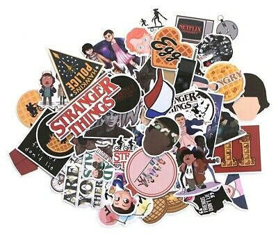 Stranger Things Adhesive Stickers 60 pieces lot #3 VIC