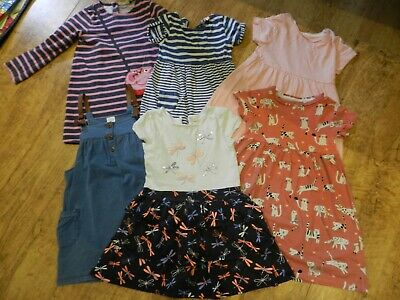 Girls dresses bundle, Age 3 - 4, Next and Bluezoo, Six dresses, Very good cond.