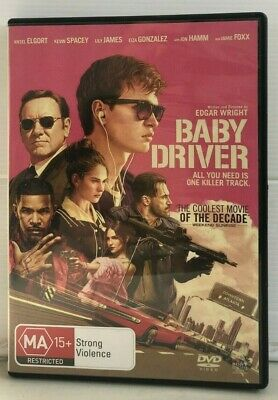 Baby Driver - Ansel Elgort - Jon Bernthal - DVD - Free AUSPost with Tracking