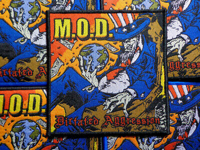 M.O.D. [black] - Official Woven Patch / Crumbsuckers Toxic Holocaust Uncle Slam
