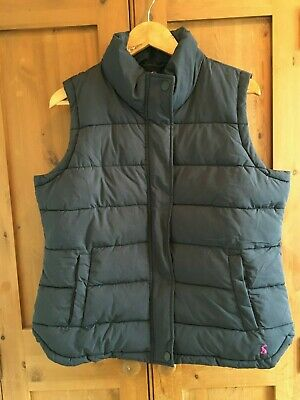 Joules Eastleigh Padded Gilet in Marine Navy Size 16 - BNWT