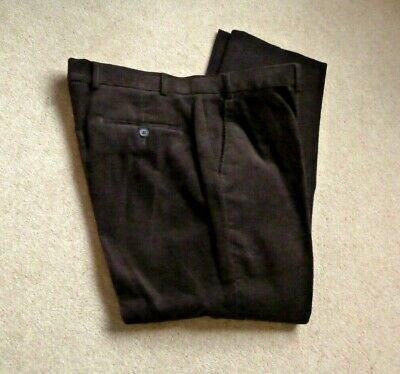 JAMES PRINGLE MEN/'S DARK GREY FLAT FRONT TROUSERS SIZE W 34-44 LEG 29-31