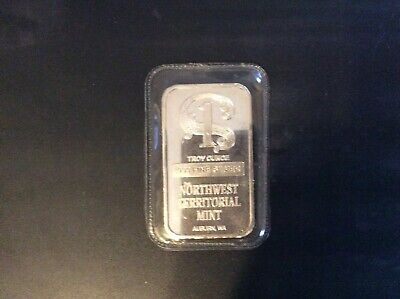 Sealed Northwest Territorial Mint .999 Fine Silver Bars 20 x 5g 100g Total