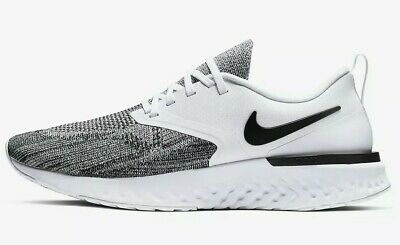 Ladies Boys Girls Nike Odyssey React 2 Flyknit Trainers White Black UK Size 4