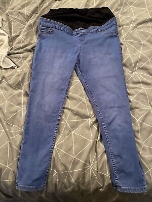 New Look Maternity Over The Bump Jeans Size 14