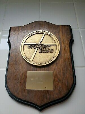 Naval Air Test Center USS Saipan Rotary Wing Test Directorate plaque