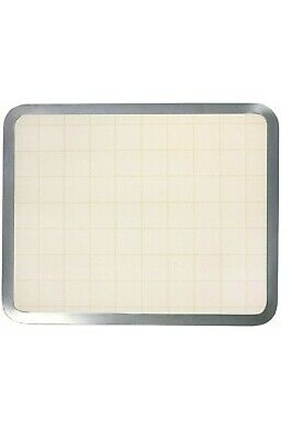 Vance Industries16 X 20 inch Almond Graphic Built-in Surface Saver Tempered Glas