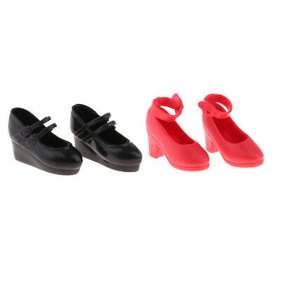 2 Pairs of BJD Dolls Sneaker Shoes for 1//6 Blythe SD BB Dress Up Accessory