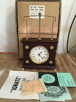 Vintage Jerome & Co Horolovar Flying Pendulum Clock Germany
