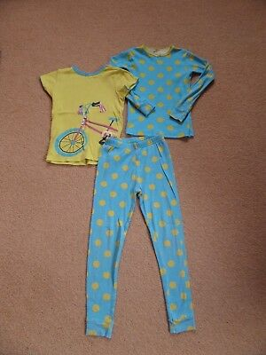 FABULOUS Girl's 3 Piece CARTER'S Pyjama Set Age 6 From USA Turquoise