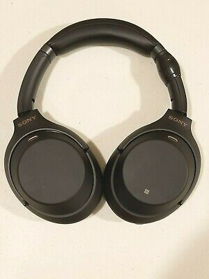 Sony WH-1000XM3B Wireless Bluetooth Noise Canceling Stereo Headphones - Black