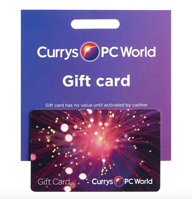 Currys PC World Gift Card £101