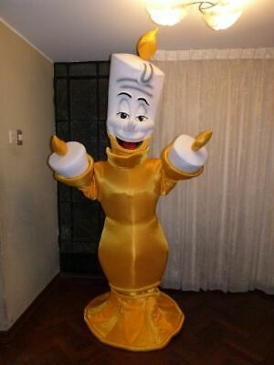 new Mascot Costume lumiere chandelier character cosplay party outfit