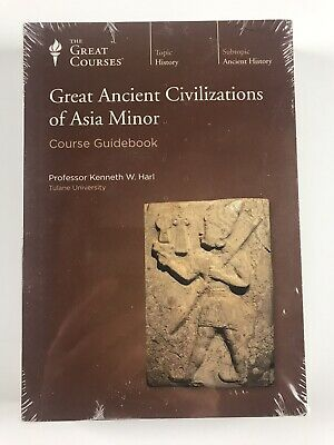 The Great Courses Great Ancient Civilizations of Asia Minor 4 DVD Guidebook