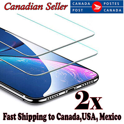For Apple iPhone 8 7 Plus XR X XS Max 11 Pro Max Tempered Glass Screen Protector