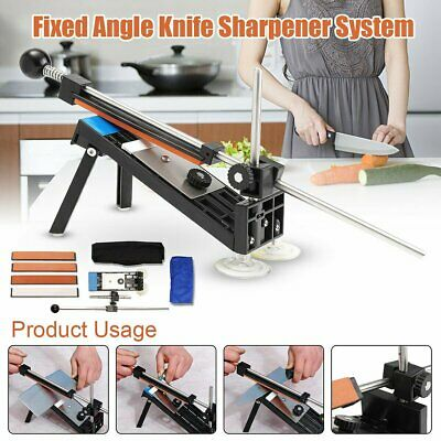 New Edge Pro Apex Style Fix-Angle Knife Sharpening System Home Sharpener