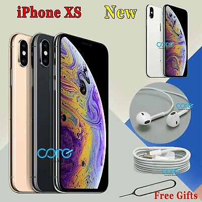 NEW Apple iPhone XS - 64GB 256GB - Unlocked Smartphone Various Colours UK