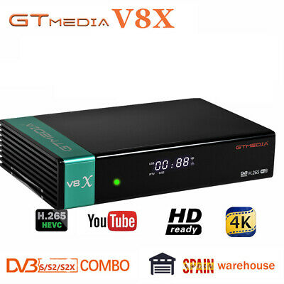 Receptor Gtmedia v8 nova DVB-S2 Satellite Receiver Support H.265 Built-in WiFi