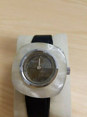 Vintage Ladies Swiss Made AGON Art Deco Fashion Watch Manual Wind Marble Case