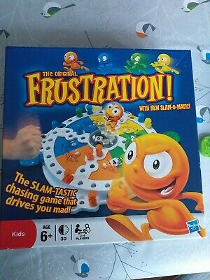 Hasbro MB Frustration Board Game: Slam Tastic:Genie:Family Fun Slam O Matic Dice