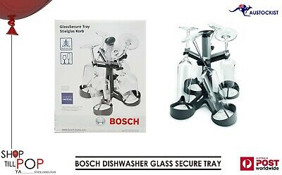 Bosch Dishwasher Glass Secure Tray Tower Smz5300 Holds 4-16 Safely Bnwt