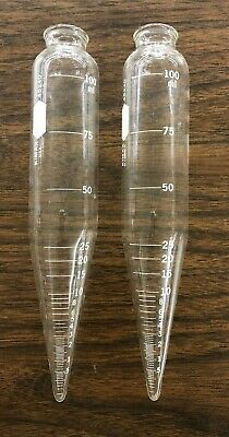 Kimax 45240 100 mL Centrifuge Tube 2 pcs Chemistry Lab Glassware