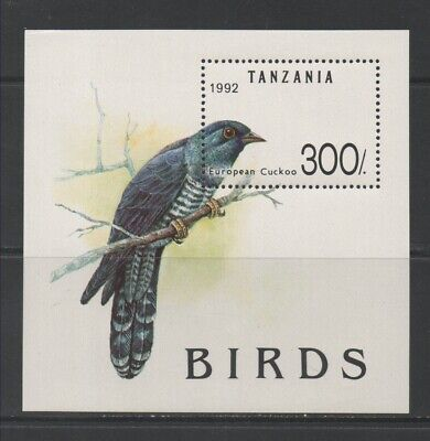 Thematic Stamps Animals - TANZANIA 1992 BIRDS MS1360 mint