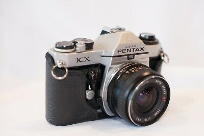 Pentax KX 35mm SLR Film Camera 1.8 55mm Pentax lens set GREAT CONDITION
