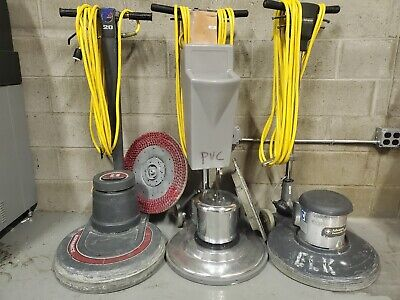 1 Lot of 3 Floor Buffer Machines