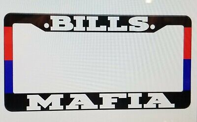 Screw Caps Hatchback Mafia jdm Black Metal License Plate Frame