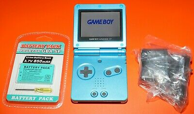 Console Portatile Nintendo Game Boy Advance SP GBA AGS 101 + Battery Pack Giochi