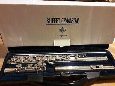 Buffet Crampon BC6020 Flute, Music Stand and 15 books 9 with accompanying CDs.