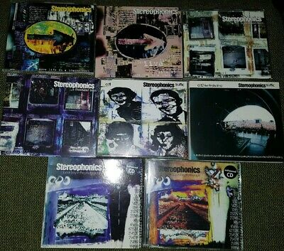 Stereophonics collection  all CD singles from First Album